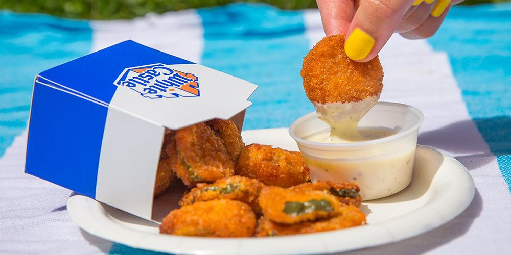 White Castle Brought Back Fried Pickles to Its Menu for a Limited Time