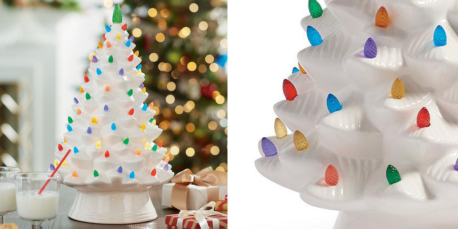 Grandin Road Christmas.This Cyndi Lauper Ceramic Christmas Tree Will Complete Your