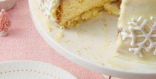 Double White Chocolate Cake