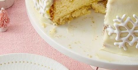 Best Double White Chocolate Cake Recipe How To Make Double White Chocolate Cake