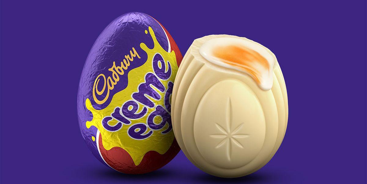 Cadbury White Chocolate Creme Eggs
