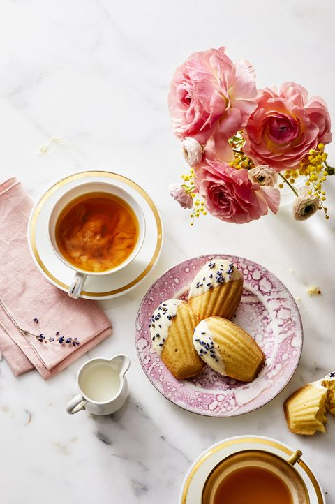 White Chocolate and Lavender Madeleines - Mother's Day Desserts
