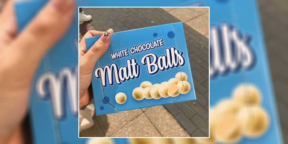 Poundland are doing white chocolate Malteser dupes and yum