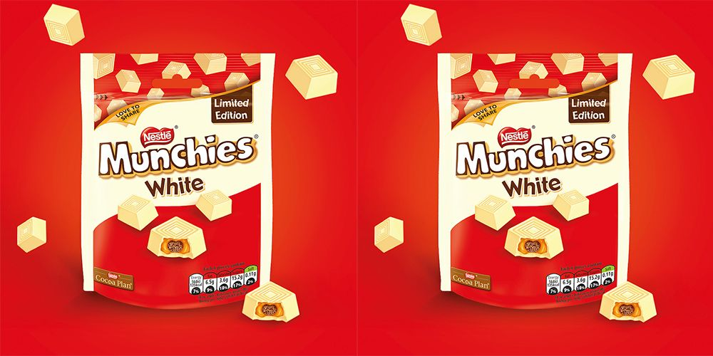 White Chocolate Munchies Exist And All Our Dreams Have Come True