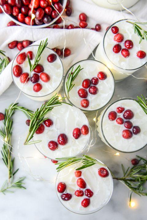 White Christmas Margarita - Christmas Cocktails