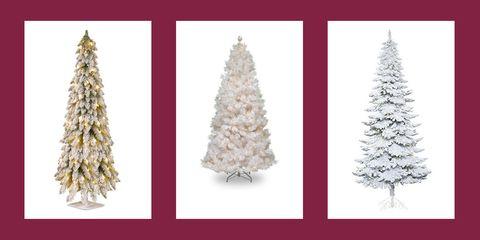 best white christmas trees