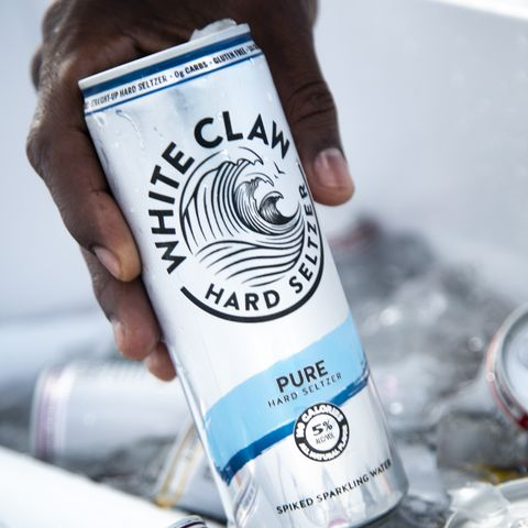 White Claw New Pure Hard Seltzer Is Like Vodka Soda In A Can