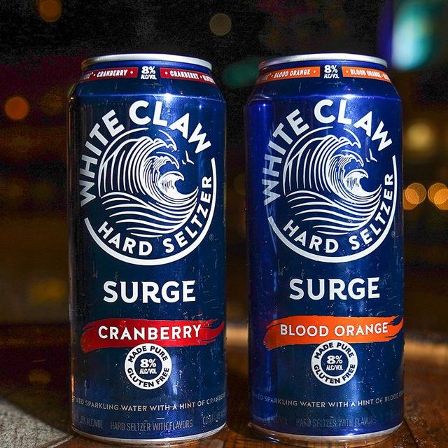 white claw surge cans