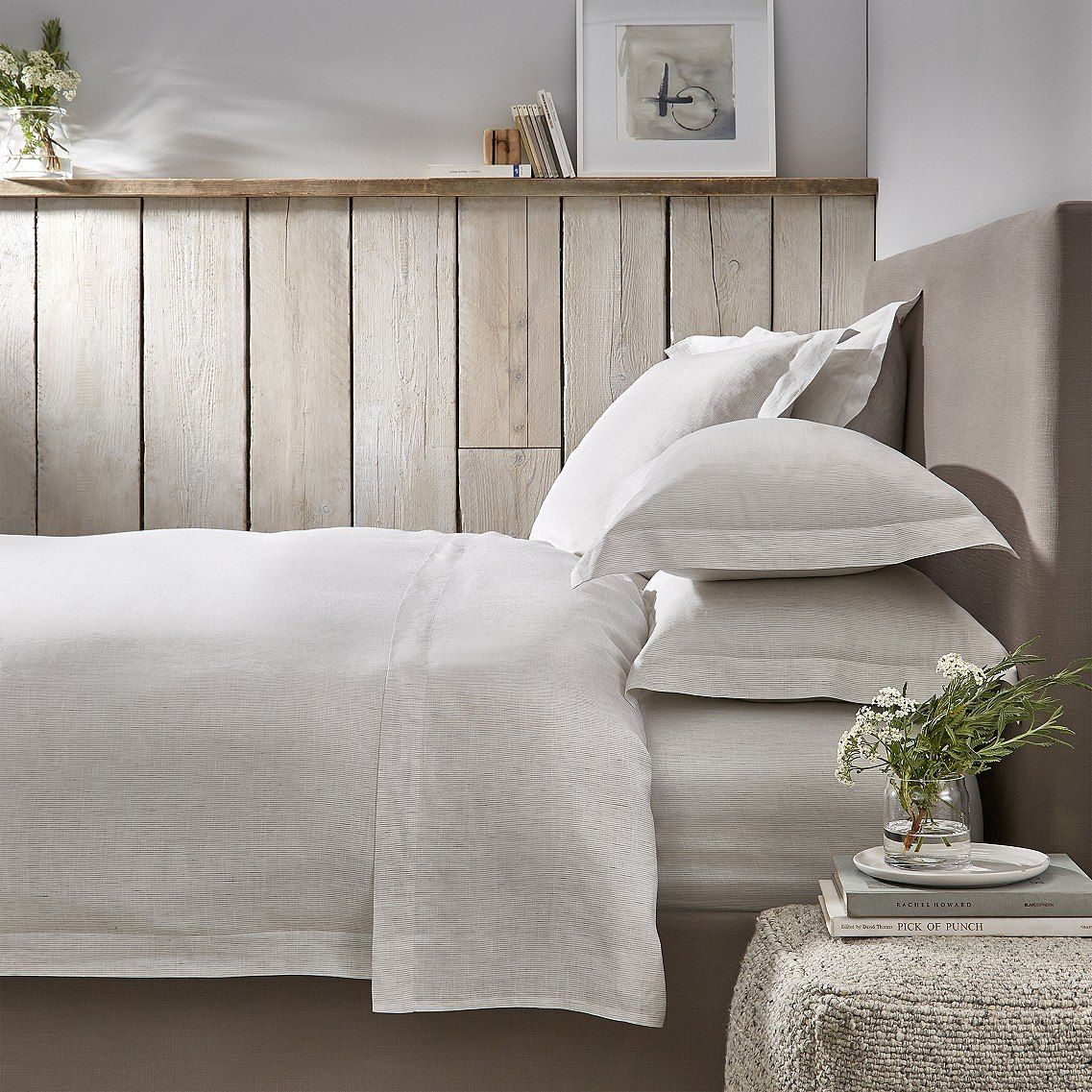 Silk bedding - The White Company