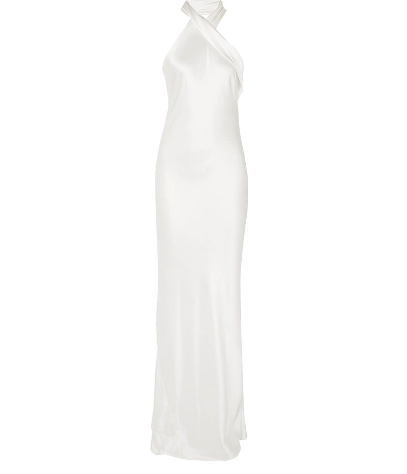 Inspired by Meghan Markle's evening wedding reception dress