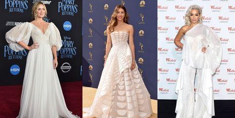 Gown, Dress, Clothing, Fashion model, Carpet, Red carpet, Shoulder, Wedding dress, Flooring, Fashion,