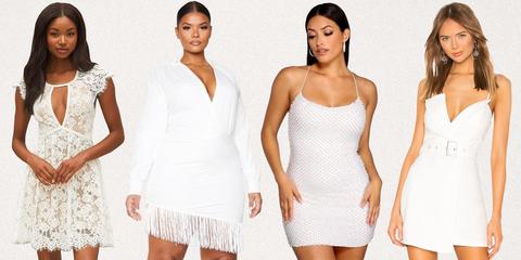 white graduation dresses 2021