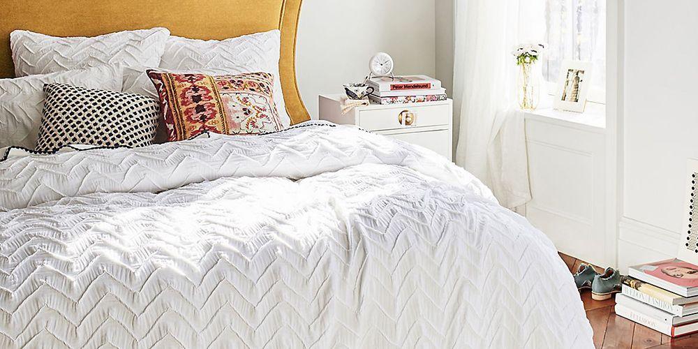 9 Best White Duvet Covers For 2019 Luxury White Bedspreads
