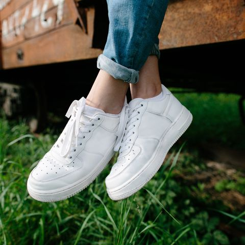0ace32d76a705d How to get white trainers clean and fresh - Good Housekeeping