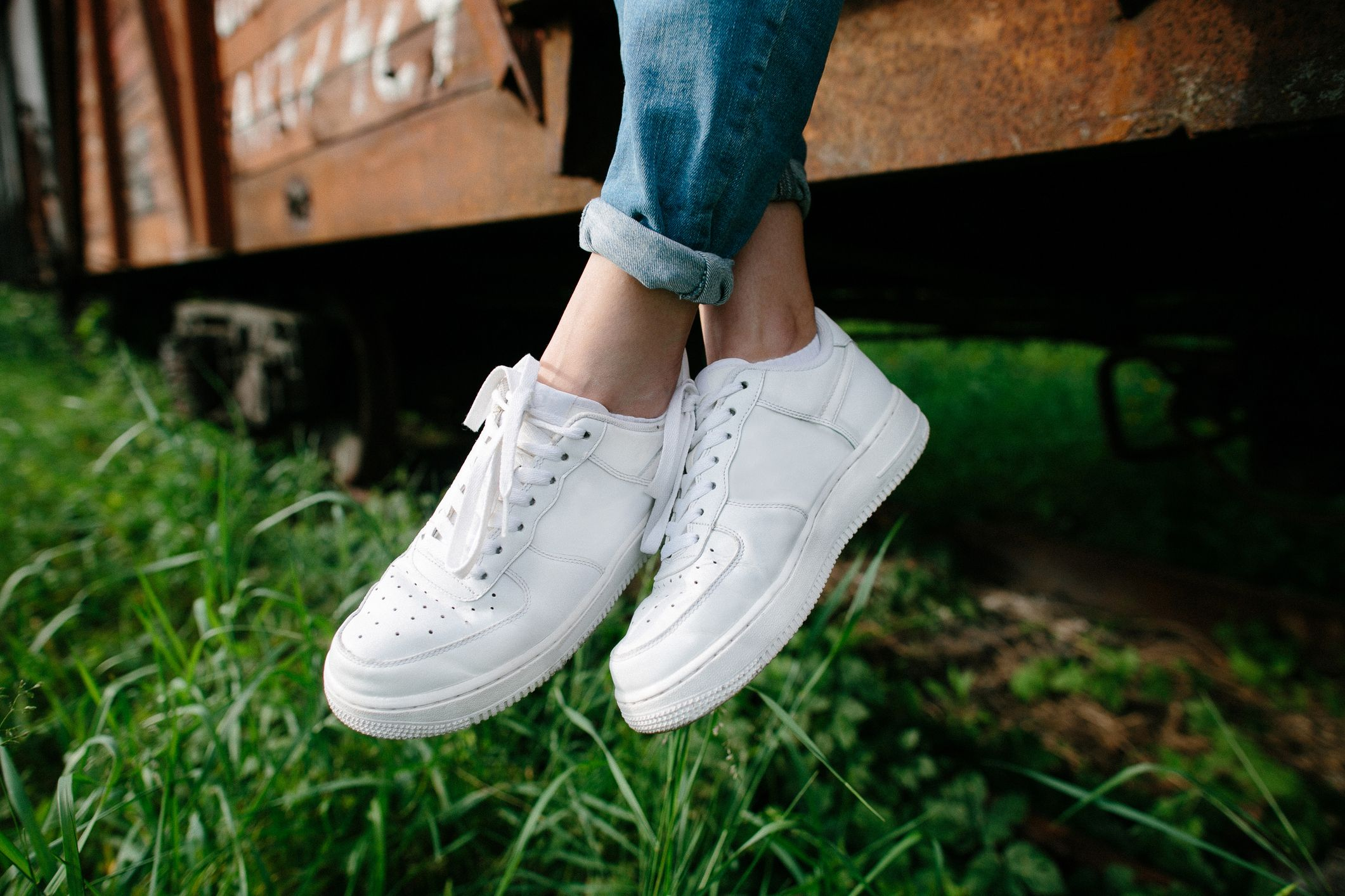 69d4cc0b82ebc How to Clean White Shoes - Best Way to Clean White Converse or ...