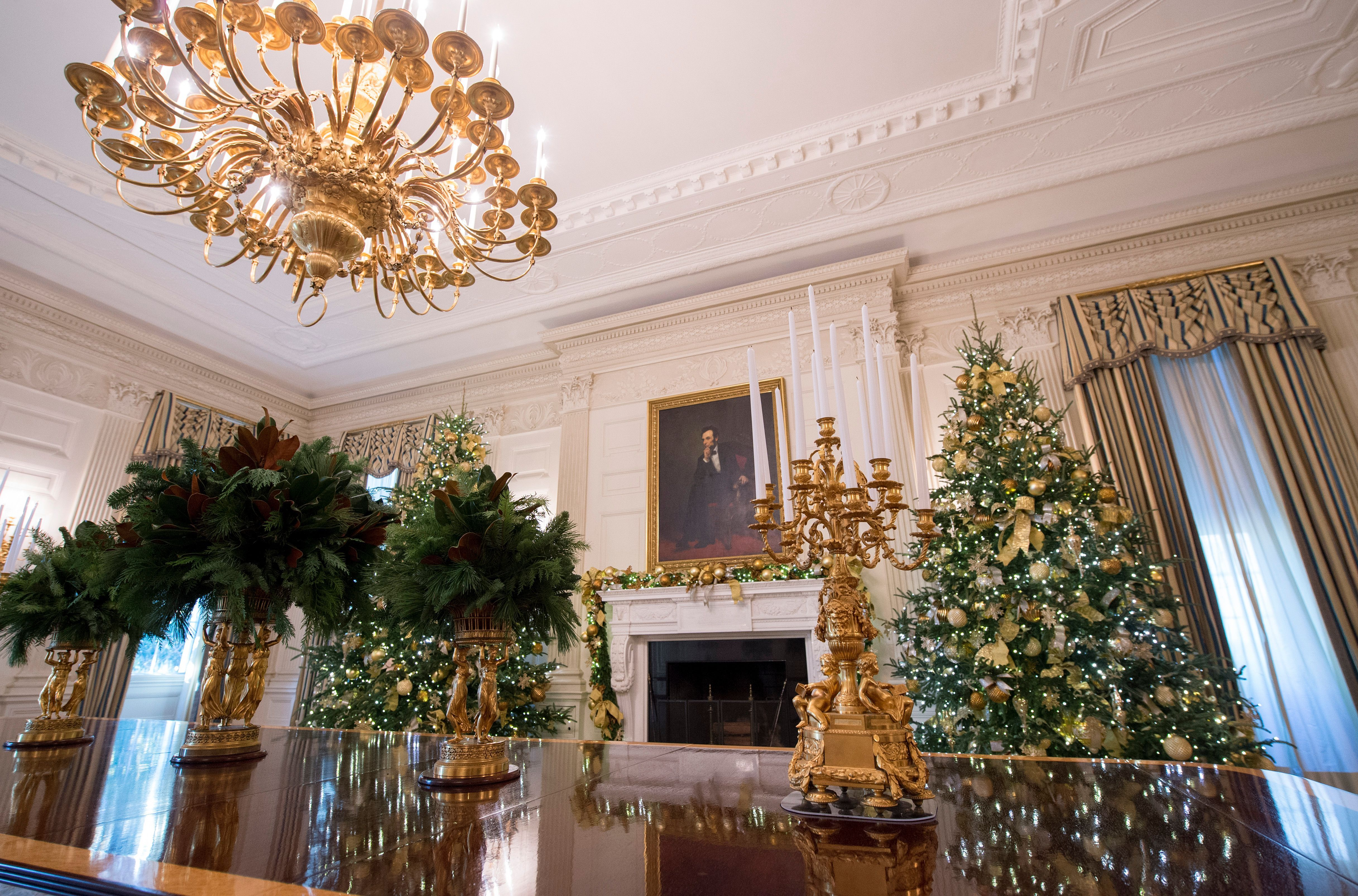 The White House Just Unveiled Its Christmas Decorations