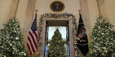the white house just unveiled its christmas decorations - Christmas Tree With Lights And Decorations