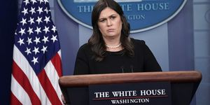 Press Secretary Sarah Sanders Holds Daily White House Briefing