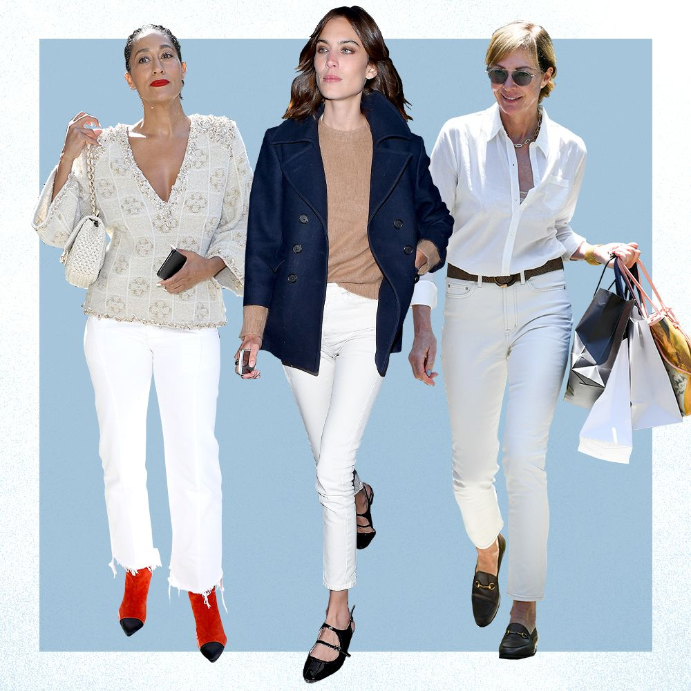 5 Ways to Perfectly Style a Classic Pair of White Jeans