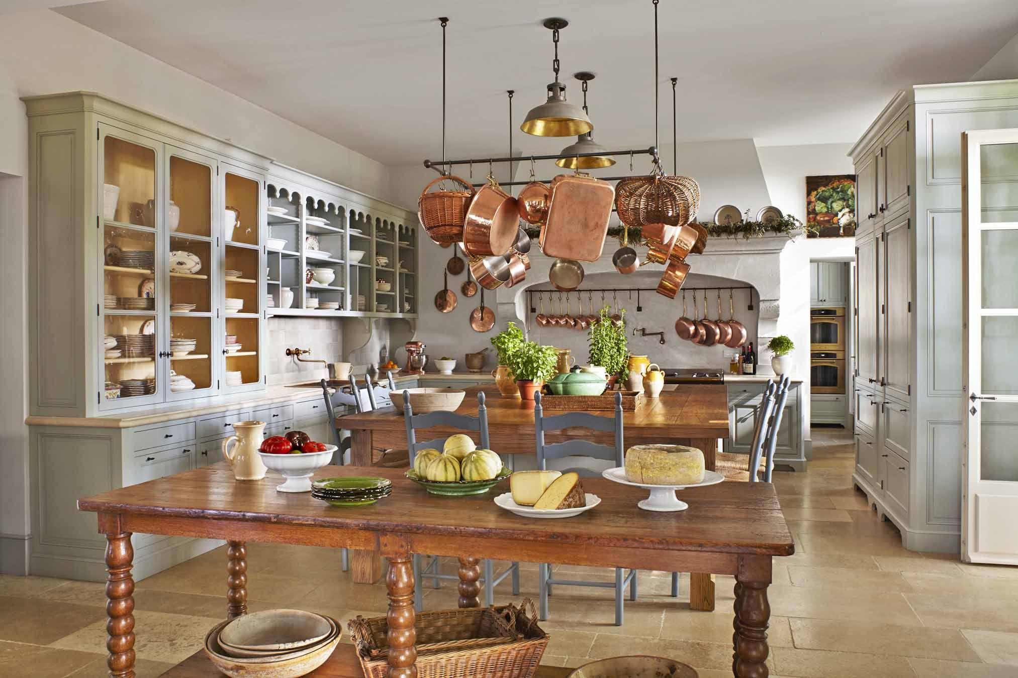 white kitchen bednar long provence veranda