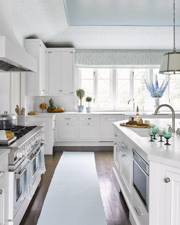 20 White Kitchen Ideas , All White Kitchen Designs and Decor