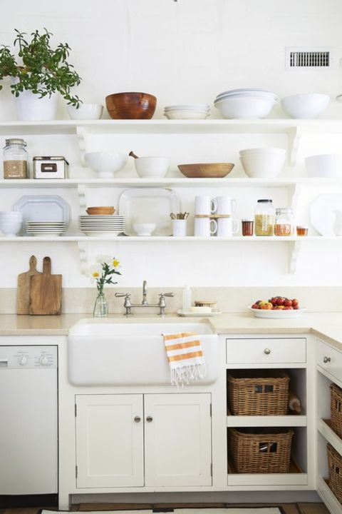 white kitchens farmhouse sink