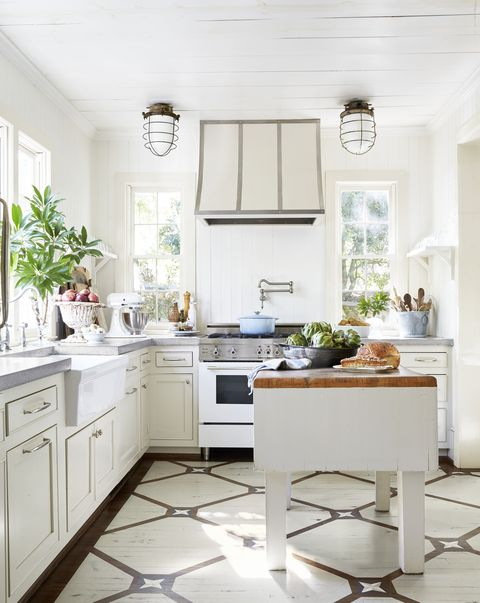 white on white kitchen, paint colors small rooms