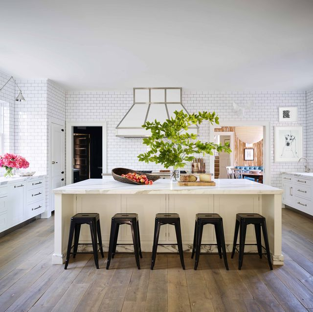 Cuisine Blanc Et Marron: All White Kitchen Designs And Decor
