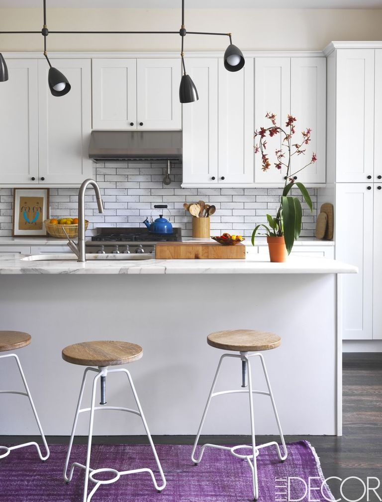 40 best white kitchens design ideas pictures of white for Well decorated kitchen