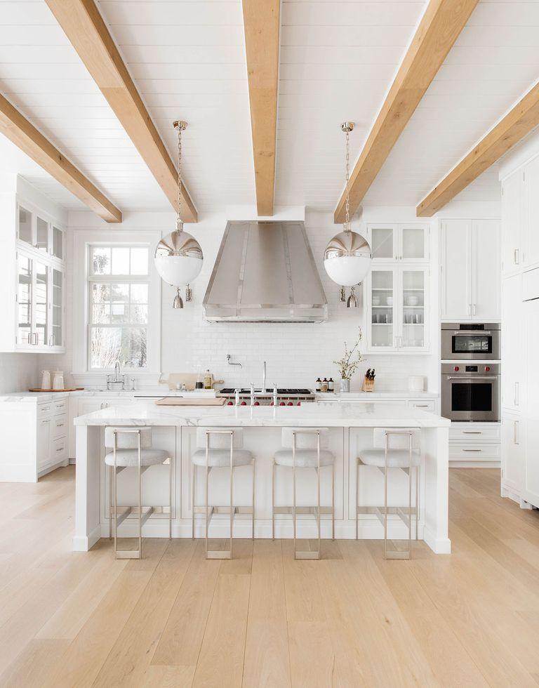 Rikki Snyder. White H&tons Kitchen & 40 Best White Kitchen Ideas - Photos of Modern White Kitchen Designs