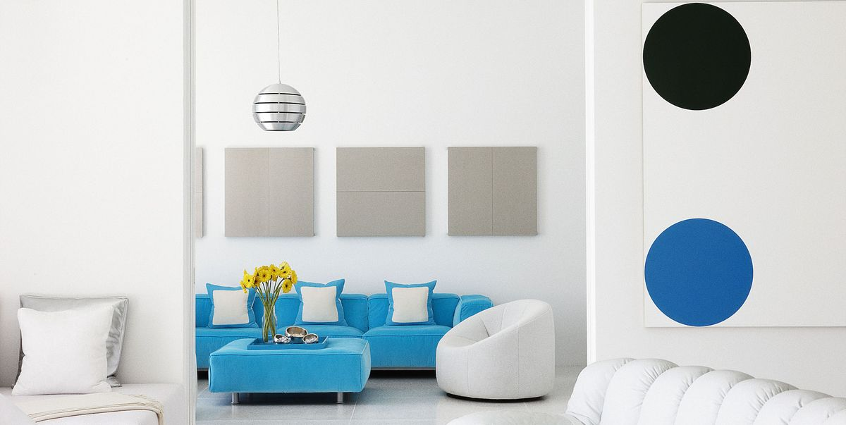 blue and white living rooms.  20 Best White Paint Colors Designers Favorite Shades of