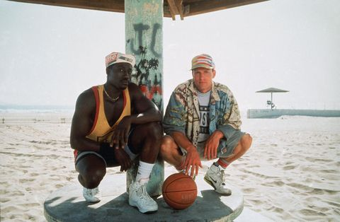 wesley snipes en woody harrelson in de film white men can't jump