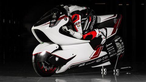 moto eléctrica aerodinámica