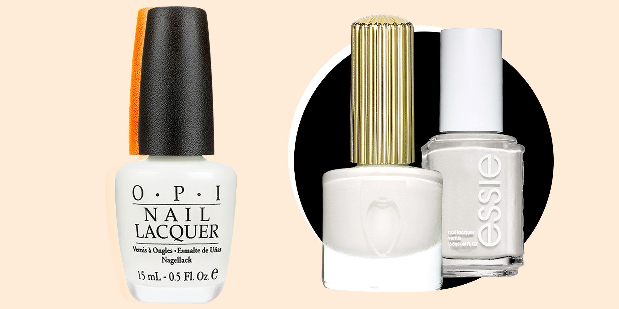 The 10 Best White Nail Polishes — Flattering White Nail Colors