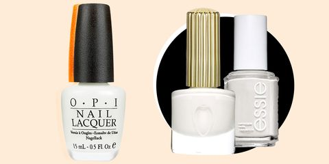 The 10 Best White Nail Polishes Flattering White Nail Colors