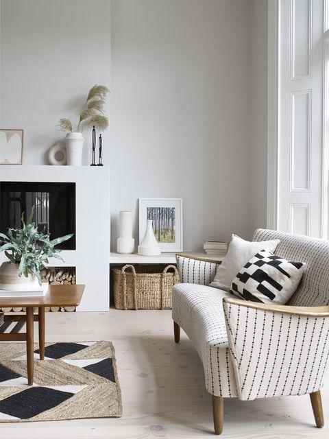 white, room, interior