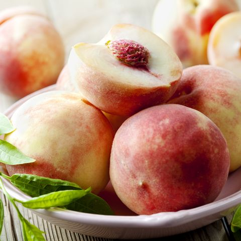 White Peaches - Types of Peaches