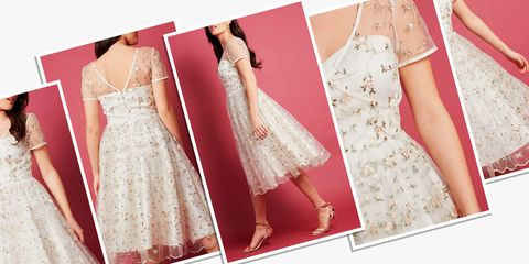 336fda3311e 12 Best Rehearsal Dinner Dresses for Brides - White Dresses for ...