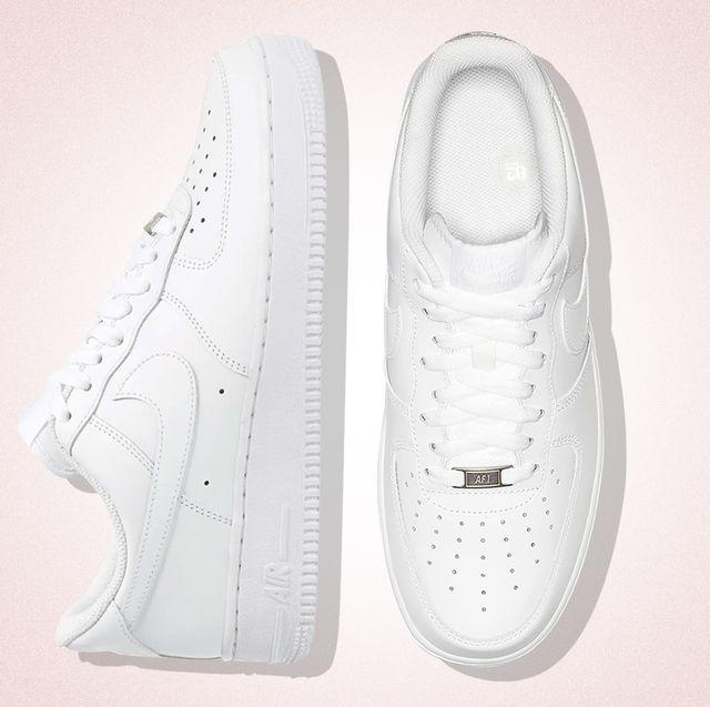 des baskettes blanches