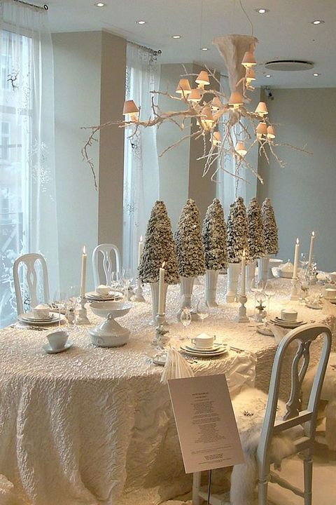 25 Elegant Christmas Table Settings - Holiday Table Ideas & Centerpieces