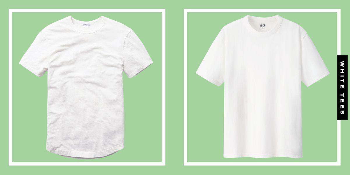 15 Best Men S White T Shirts 2021 Top White Tees For Men