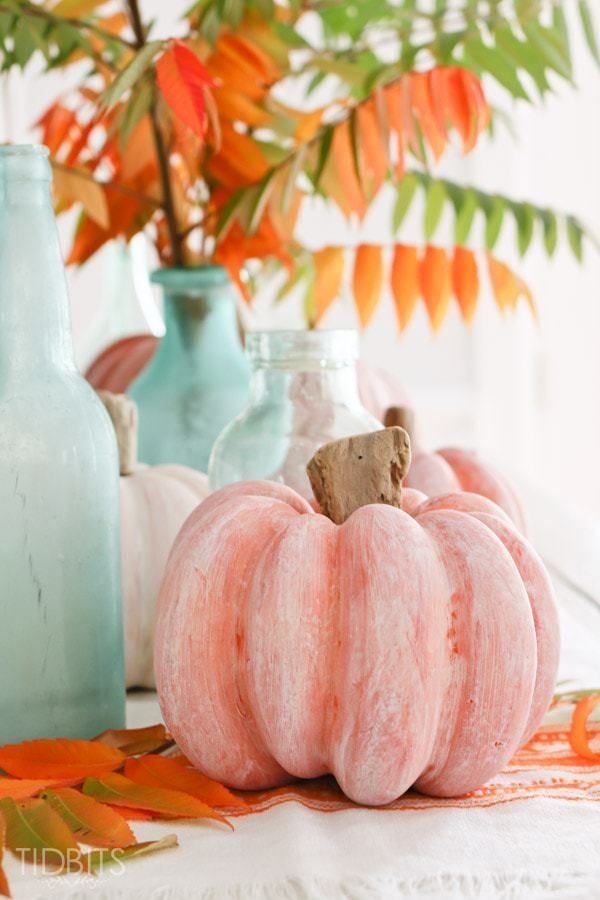 whitewashed pumpkin