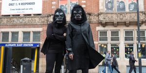 Guerrilla Girls en Whitechapel