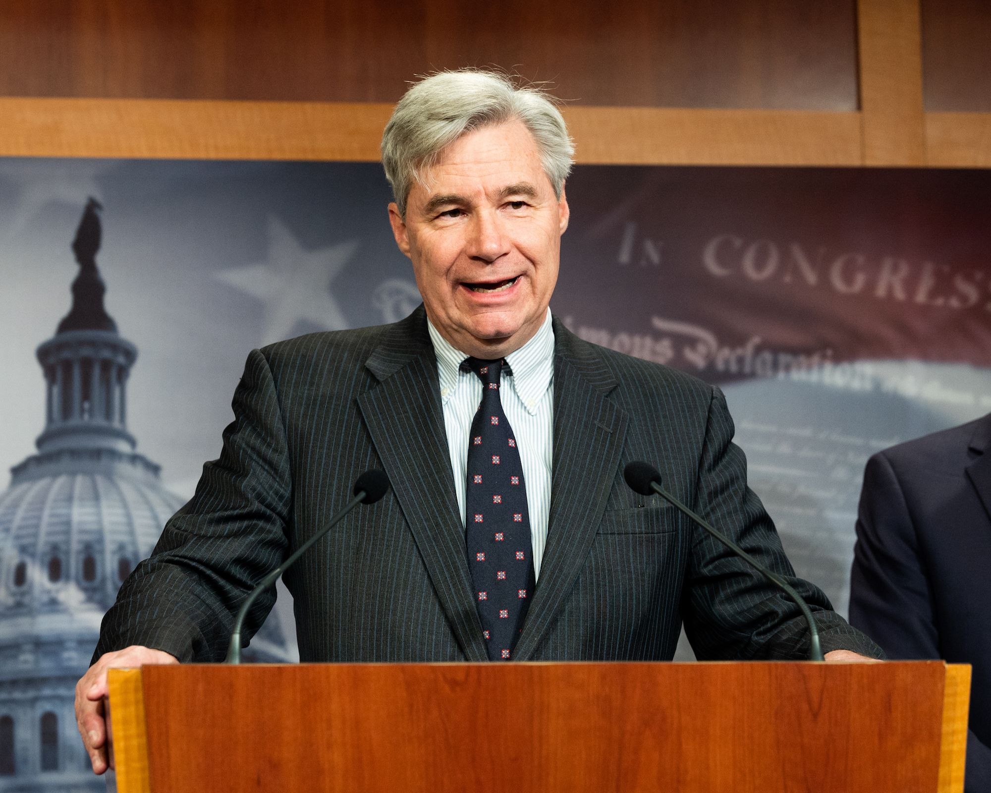 Sheldon Whitehouse Is Going to War Against the Federalist Society Over Court-Packing