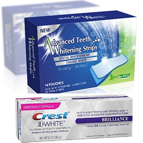 Teeth Whitening From Strips To Bleaching And At Home Kits We