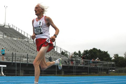 Ed Whitlock, 85, Runs Half Marathon World Record