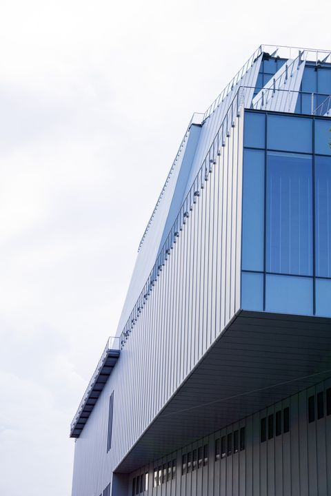 whitney museum of american art, low angle view, new york city, new york, usa