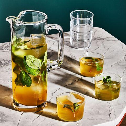 冰檸檬草薄荷茶雞尾酒食譜
