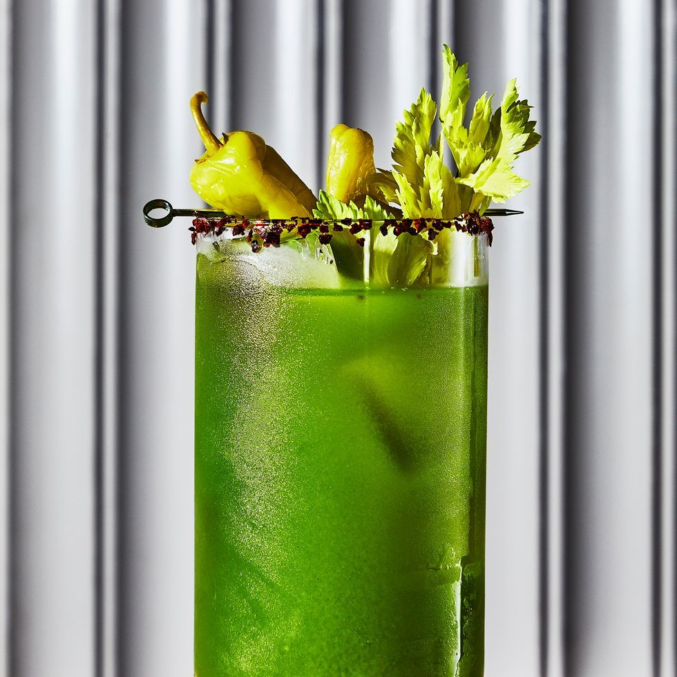 Try This Green Mary Alcohol-Free 'Bloody Mary' Mocktail Recipe