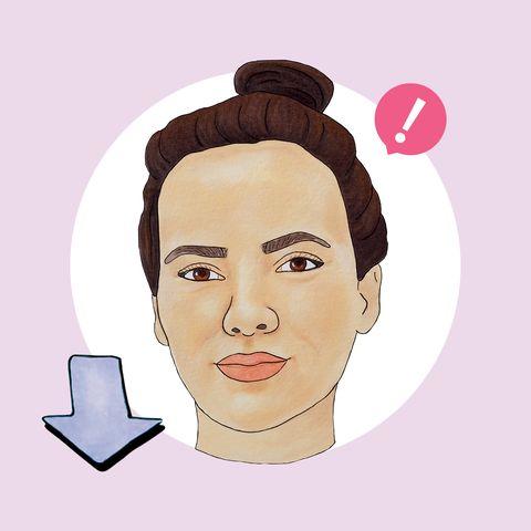 Face, Hair, Forehead, Eyebrow, Cheek, Nose, Skin, Head, Chin, Hairstyle,